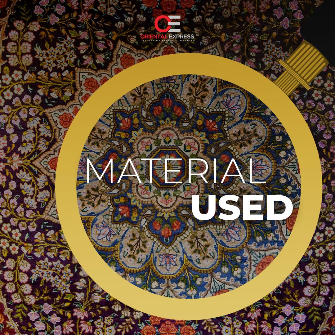 Rug Appraisal: Material Used