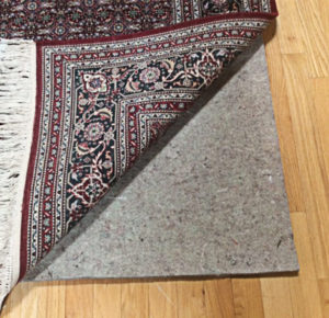 Rug pads from Oriental Express Rug Cleaning & Repair Service