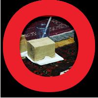 Oriental Express Rug Washing Process: Step 4 Spot Treatment